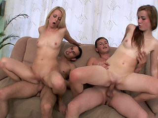 Welcoming sex party